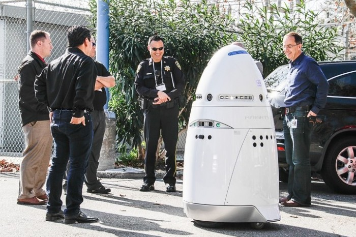 New Trend?  Robot Security Guards at Microsoft Campus
