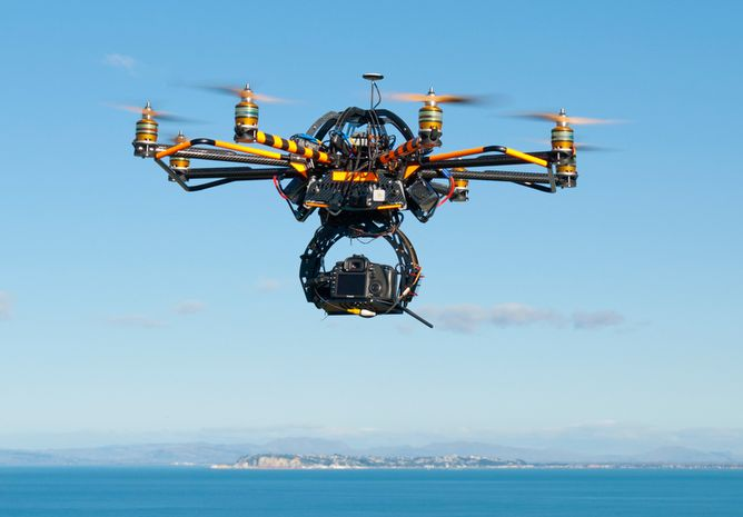 Drones – Video Surveillance – Privacy and Security Concerns